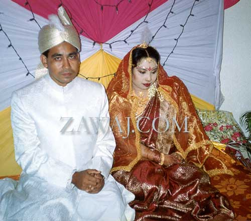 Nishat Sultana and Sirajul Islam Khan 39s Wedding from Bangladesh
