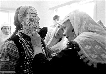 Face Of Bulgarian Bride By 6