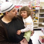 Wael and Salma at Target in California