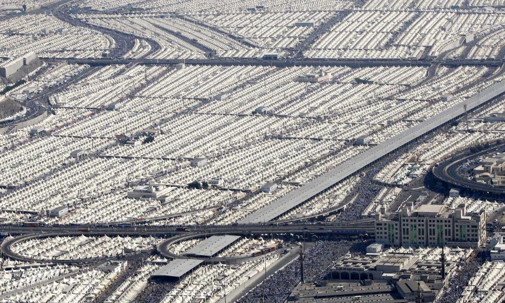 Bricoleurbanism » Mina Tent City, Mecca
