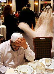 Blessing an Islamic wedding
