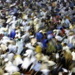 Jakarta, Indonesia: Friday prayers in Ramadan at the Istiqlal Mosque, the main mosque of the city. Indonesia is the world's most populous Muslim country.