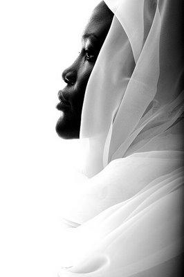 African American Muslim woman in hijab