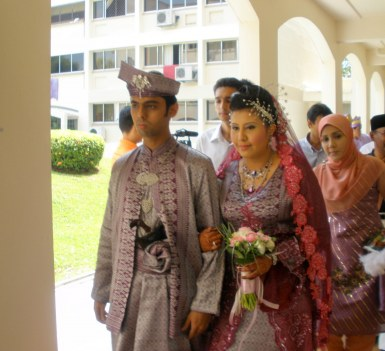 Malay wedding in Singapore