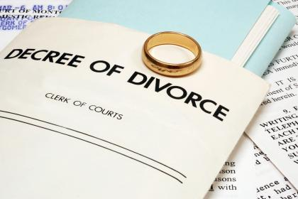 decree of divorce %photo