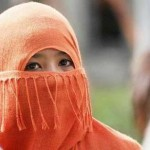 veiled muslim woman in philippines 150x150 %photo