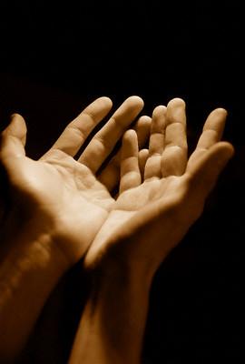 Dua - Hands raised in Duaa