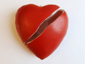 broken heart sliced heart 300x225 %photo