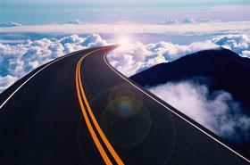 path heaven hell road, way to Jannah