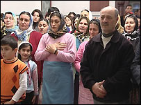 turkish alevis praying %photo