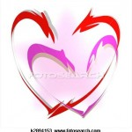 Hearts linked in love 150x150 %photo