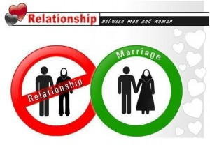 Pre-marital relationships are haram in Islam