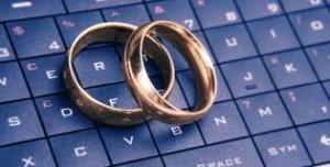 internet wedding marriage