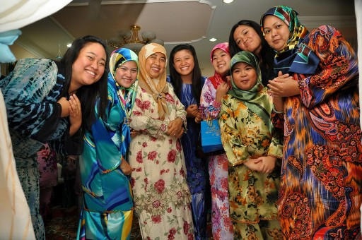 muslim engagement party brunei %photo