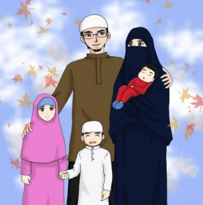 A Muslim family
