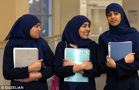 Muslim school girls
