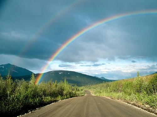 road-and-double-rainbow