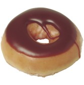 Chocolate donut that I'm not eating because I'm fasting