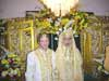 Emad-ud-deen and Eva's wedding in Indonesia