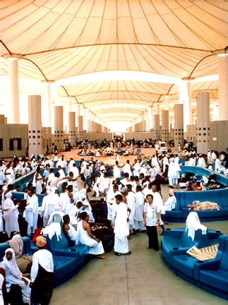 The Hajj Terminal in Jeddah