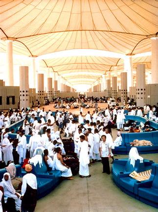 The Hajj Terminal in Jeddah