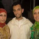 The groom Si Mohamed with his sisters