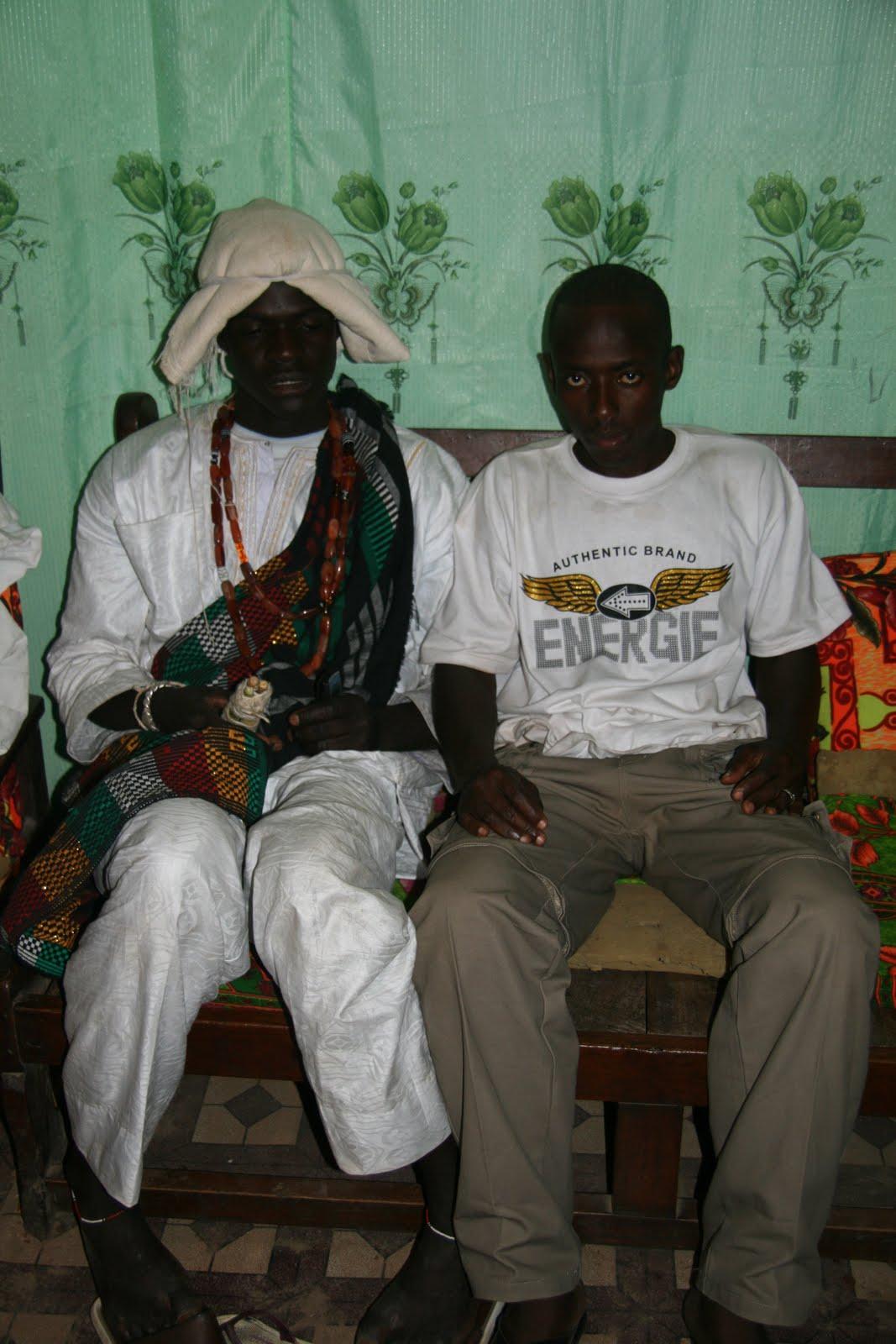 Fula groom in traditional wedding costume