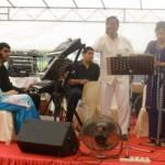 Band plays Hindi songs at Malay wedding
