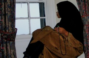 African American Muslim woman