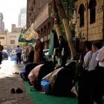 Dhuhr prayer in Cairo