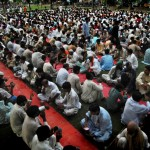 Muslims break their fast on the first day of Ramadan in Lahore, Pakistan