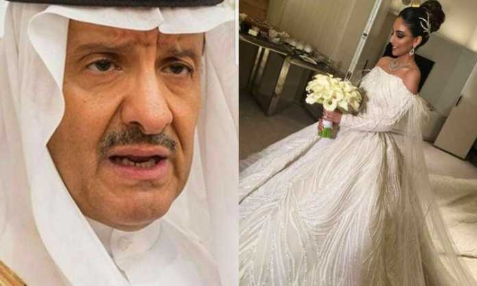 Prince Sultan bin Salman and his new bride.