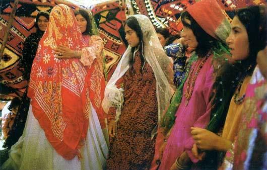 Iranian Muslim wedding